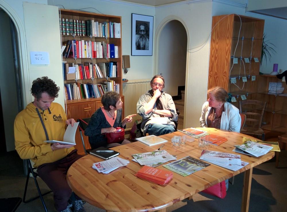 Réunion publique à Lodève le 11 avril 2014.
