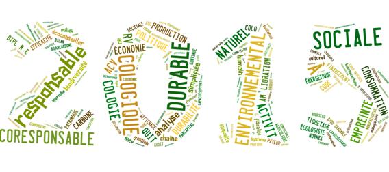 2015 écologique, durable, social...