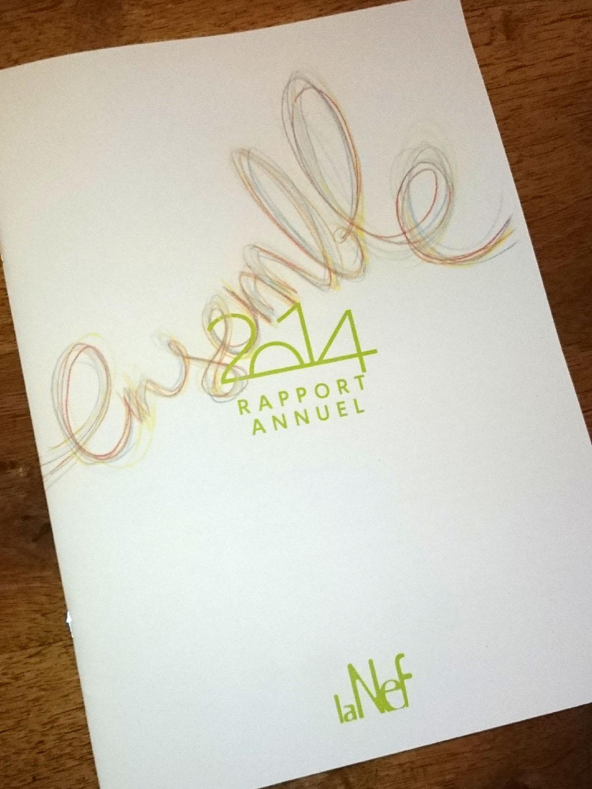 Rapport annuel 2014 La Nef